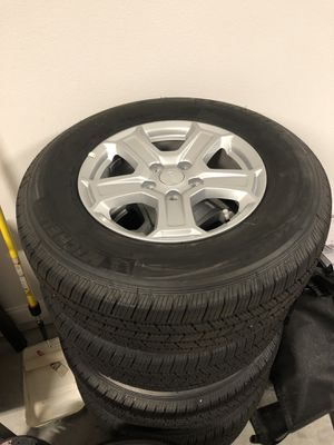 5 Jeep JL/JK stock rims + tires for Sale in Orlando, FL