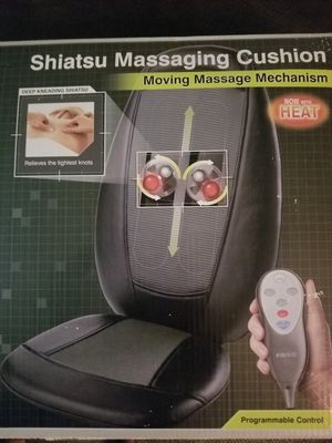 Message cushion, HomeMedics shiatsu message for Sale in Riverside, CA