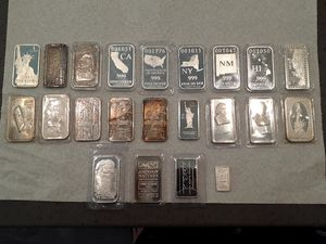 Don't Miss Out!! Silver is on the Rise!! .999 Fine Silver Art Bars for Sale in Fontana, CA