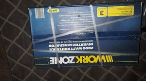 Workzone generator and dolly for Sale in Ontario, CA