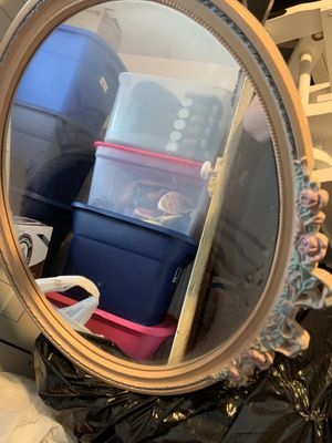 Mirror and matching picture for Sale in Nesquehoning, PA
