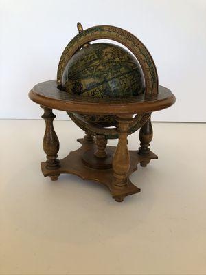 Vintage World Italian Globe With Stand Zodiac for Sale in Vista, CA