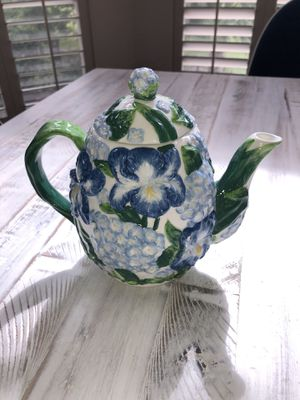 "Vtg House of Lloyd floral ceramic tea pot 7"" for Sale in Katy, TX"