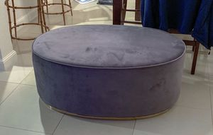 Gray Ottoman for Sale in West Palm Beach, FL