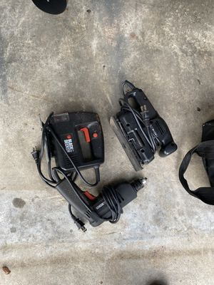 Black and decker set for Sale in Snellville, GA