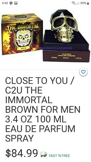 Close to you the immortal brown for men for Sale in Maynardville, TN