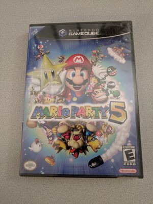 Mario Party 5 (GameCube) Y-Sealed, Mint Condition for Sale in San Diego, CA