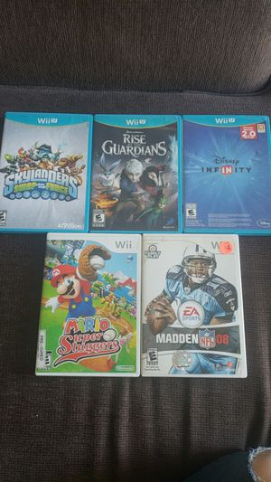 Wii U and Wii for Sale in Denver, CO
