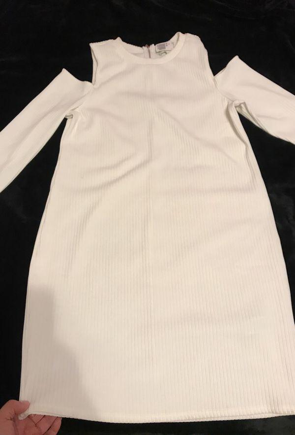 Forever21 all white dress