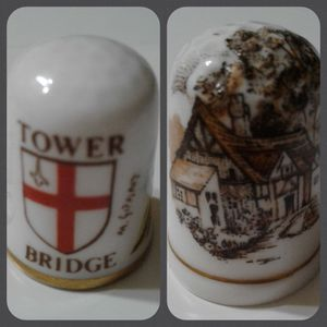 🇬🇧 THIMBLE COLLECTIBLES - ENGLAND $5.00 Each for Sale in Manteca, CA