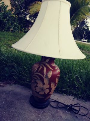 Nice table lamp with free shade for Sale in Fort Myers, FL