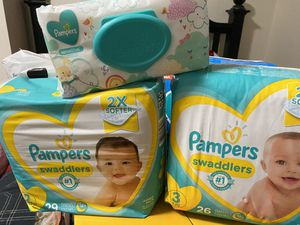 Diapers & wipes for Sale in Nashua, NH