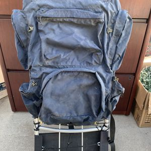 Vintage Aluminum Frame Hiking Backpack for Sale in Bakersfield, CA
