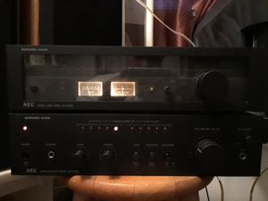 Authentic Series NEC/ Stereo & Amplifiers for Sale in Camden, NJ