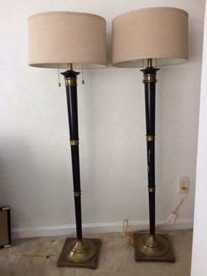 2 Floor lamps! for Sale in Yorktown, VA