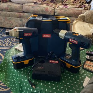 RYOBI Combo P231 18V Impact Driver Drill Tool & P205 Drill for Sale in Webster, FL