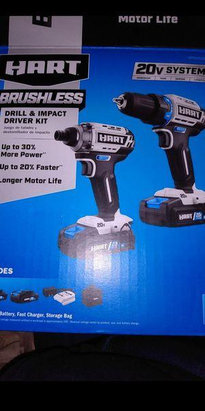 Hart BRUSHLESS Drill Kit for Sale in Mesquite, TX