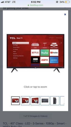 Tcl roku tv for Sale in Sacramento, CA