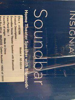 Insignia Sound Bar for Sale in Cupertino,  CA