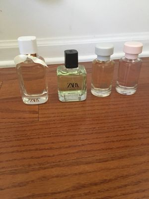 Zara Perfume Collection for Sale in Northbrook, IL