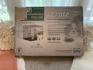 MidWest Double Door Dog (or cat) Crate for Sale in Riverside, CA