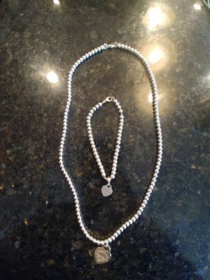 Tiffany & Co matching necklace and bracelet for Sale in Auburn, WA