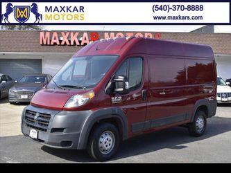 2014 RAM Promaster Cargo Van for Sale in Fredericksburg,  VA