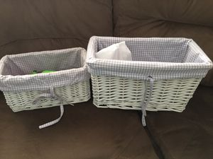 Two cute baskets for Sale in Lake Mary, FL