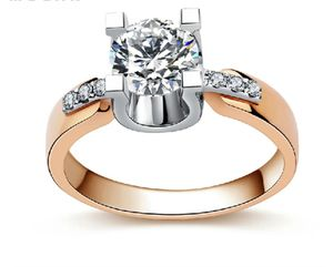 ❤Rose Gold Over S925 Sterling Silver Lab Diamond Engagement Ring Size 6-9 for Sale in Silver Spring, MD