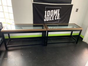 Sofa Tables $20 Each Like New for Sale in Tampa, FL