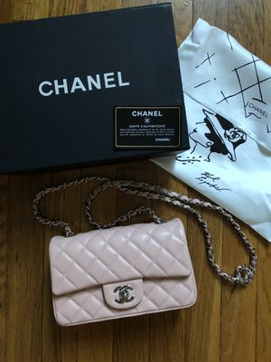 Chanel small caviar leather bag for Sale in Hoboken, NY