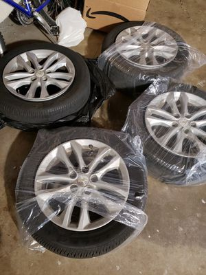 """17"""" stock rims and tires for Sale in Concord, CA"""