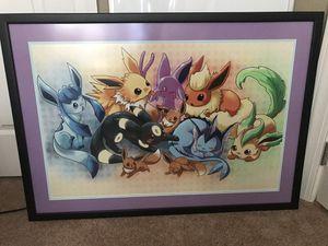Pokemon framed artwork for Sale in Winter Park, FL