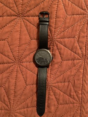 Timex men's leather strap watch for Sale in Glendale, AZ