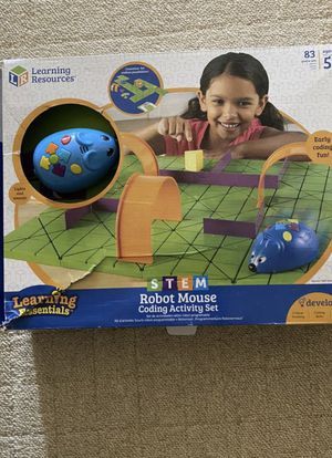 Learning Resources Robot Mouse Activity Set (mouse has trouble turning) for Sale in Los Angeles, CA