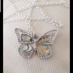 New STERLING SILVER BUTTERFLY chain for Sale in Livermore, CA