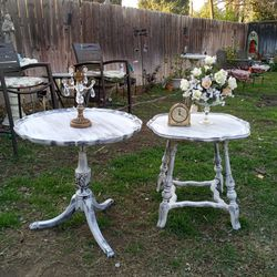 Farmhouse Distress Vintage Tables for Sale in San Bernardino,  CA