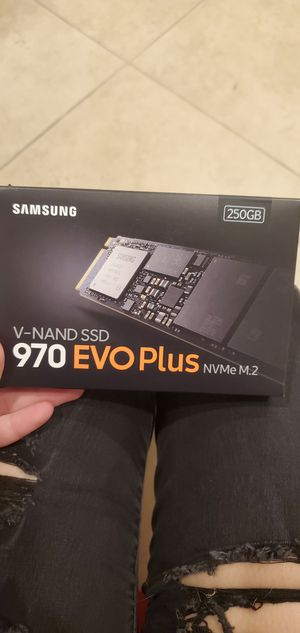 Samsung V Nand SSD 970 Evo Plus M.2 250GB for Sale in Brea, CA