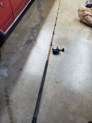 8' fishing rod and Newell reel for Sale in West Covina, CA