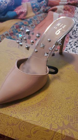 Maple sugar/clear heels for Sale in El Paso, TX