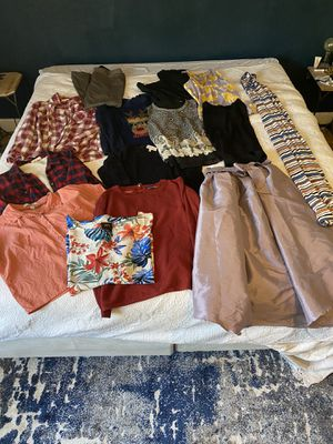 Bag of Women's clothes size large for Sale in Wenatchee, WA