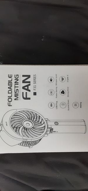 Foldable Misting Fan for Sale in San Diego, CA
