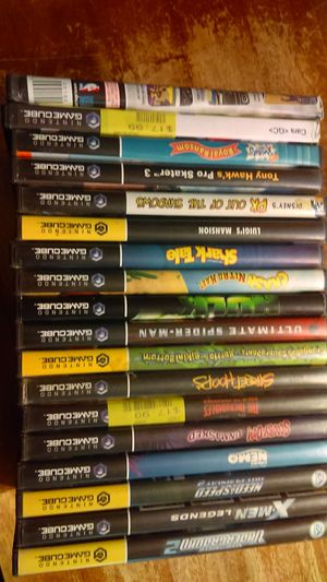 18 Gamecube games for sale. for Sale in North Providence, RI