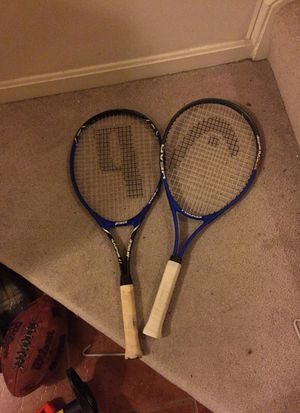 2 tennis rackets for Sale in Lorton, VA