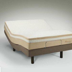 Tempur-Pedic Rhapsody Breeze Queen Massage Bed Mattress & Frame for Sale in Rockville, MD