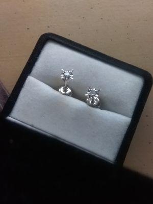 Diamond earrings for Sale in Zephyrhills, FL