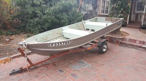 Sears Gamefisher Aluminum 12' x 4.5' Boat for Sale in Mission Viejo, CA