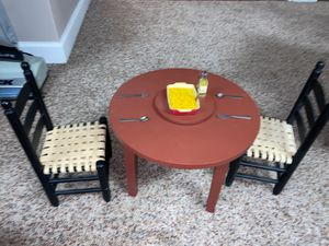 Doll table set for Sale in St. Charles, IL