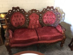 Vintage style sofa set for Sale in Grape Creek, TX