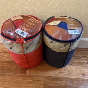 Sleeping Bags Red And Blue/adult/ 2 Pack for Sale in San Mateo, CA